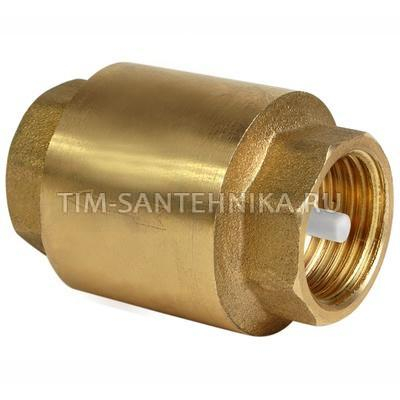 """Обратный клапан с металлическим штоком усиленный 2"""", в-в"""
