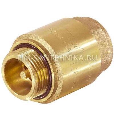"""Обратный клапан с металлическим штоком 1"""" вн.нар."""