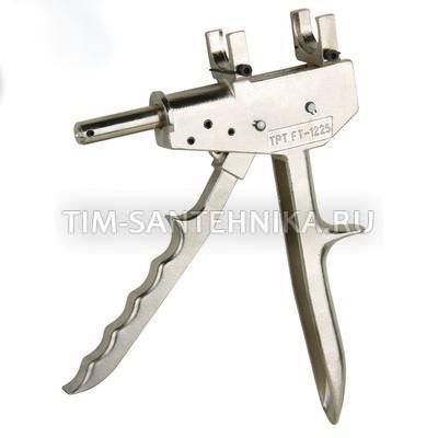 Ручной универсальный пресс инструмент для соединений с обжимающей и запрессовывающей муфтой (16,20,25) FT-1225
