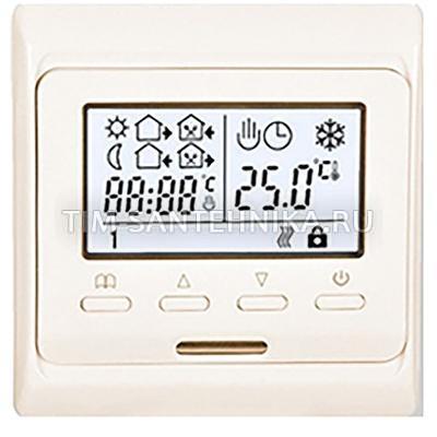 Панель управления комнатный для теплого пола и отопления